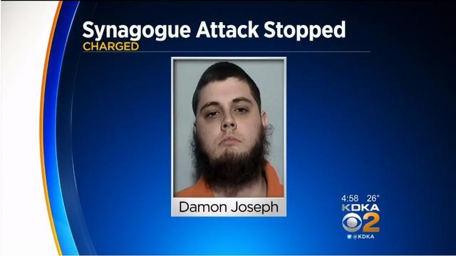 미국 유대교 예배당 대량살상 계획한 20대 남자 체포
