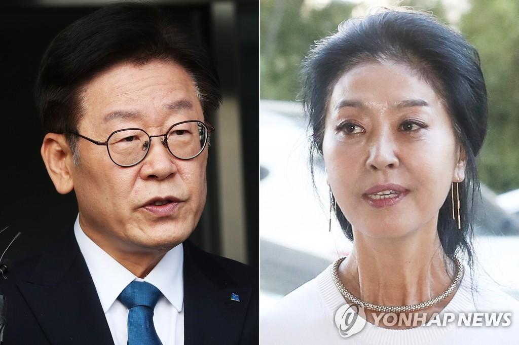 김부선, 검찰 조사 중 이재명 '명예훼손' 혐의 고소 취하