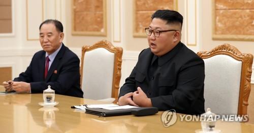 """김정은, 김영철 방미 보고받아… """"2차 북미정상회담 방향 제시"""""""