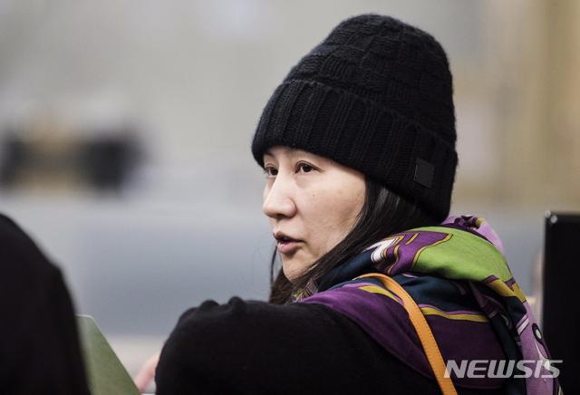 멍완저우, 미국 송환 거부 논리로 '트럼프 개입' 거론할 수도