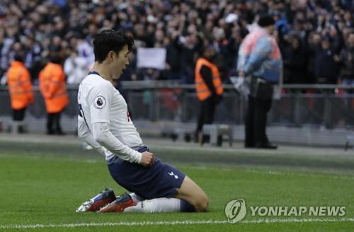 손흥민, 리그 3경기 연속골 폭발…시즌 15호 골