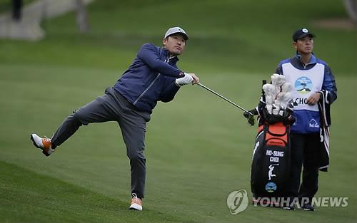 '낚시꾼 스윙' 최호성, 첫 PGA 투어 도전은 9오버파 컷 탈락