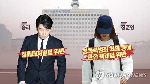승리-정준영 혐의