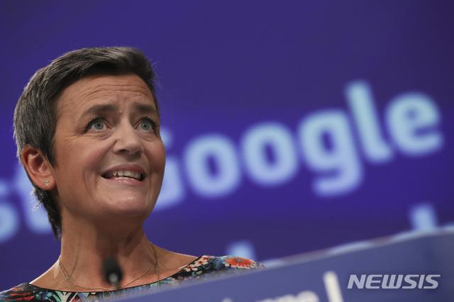 EU, 구글에 온라인 검색 반경쟁 행태로 17억 달러 벌금
