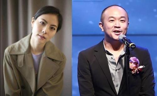 가수 박지윤과 카카오 조수용 공동대표