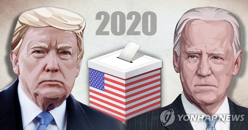 2020년 미국 대통령 재선·트럼프 대통령 - 조 바이든 전 부통령 (PG)