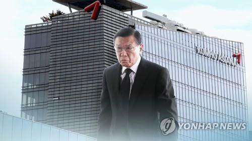 금호아시아나 박삼구 전 회장(CG)