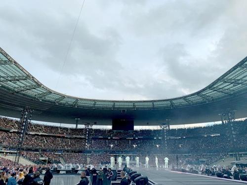 방탄소년단 프랑스 파리 공연