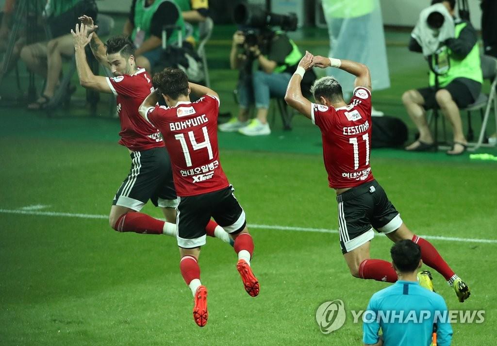 '3골 작렬' 팀K리그, 호날두 빠진 유벤투스와 3-3 무승부