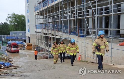 Image result for 엘에이 소방대원 한국일보 사진