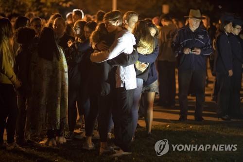 미 고교 총격사건 희생자 추모 기도회